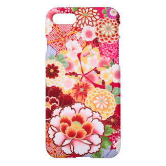Falln Red Floral Burst iPhone 8/7 Case