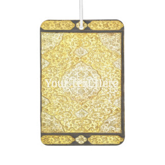 Falln Sacred Gold Car Air Freshener