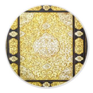Falln Sacred Gold Ceramic Knob