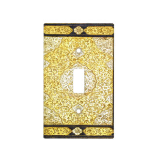 Falln Sacred Gold Light Switch Cover