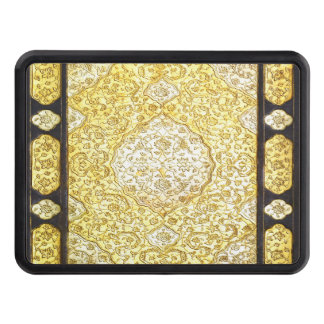 Falln Sacred Gold Trailer Hitch Cover