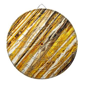 Falln Shimmering Gold Foil Dartboard
