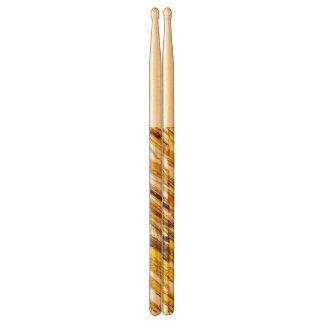 Falln Shimmering Gold Foil Drumsticks