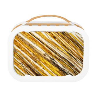 Falln Shimmering Gold Foil Lunch Box
