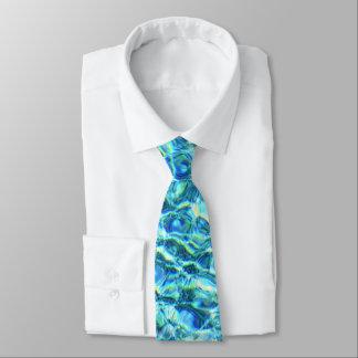 Falln Shimmering Water Tie