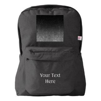 Falln Silver & Black Glitter Gradient Backpack