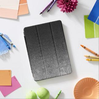 Falln Silver & Black Glitter Gradient iPad Air Cover
