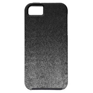 Falln Silver & Black Glitter Gradient iPhone 5 Cover