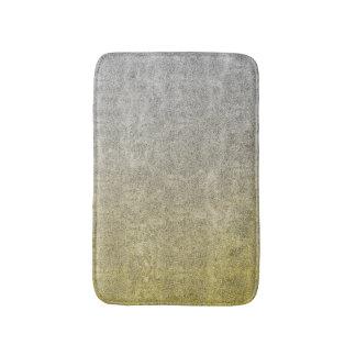 Falln Silver & Gold Glitter Gradient Bath Mat