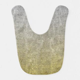 Falln Silver & Gold Glitter Gradient Bib