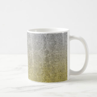 Falln Silver & Gold Glitter Gradient Coffee Mug