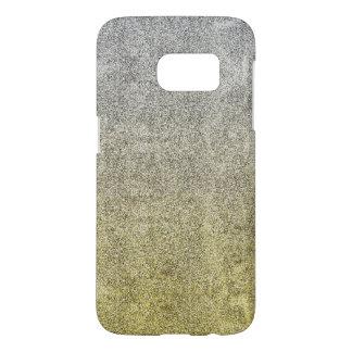 Falln Silver & Gold Glitter Gradient Samsung Galaxy S7 Case