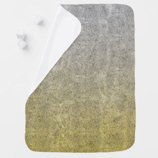 Falln Silver & Gold Glitter Gradient Stroller Blanket