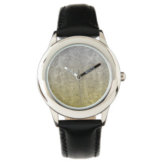 Falln Silver & Gold Glitter Gradient Watch