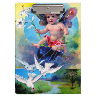 Falln Spring Time Fairy Clipboard