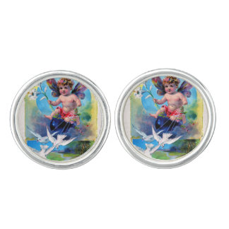 Falln Spring Time Fairy Cufflinks