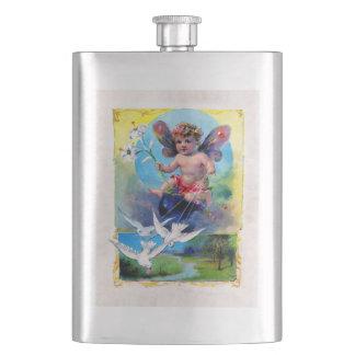 Falln Spring Time Fairy Hip Flask