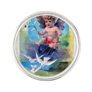 Falln Spring Time Fairy Lapel Pin