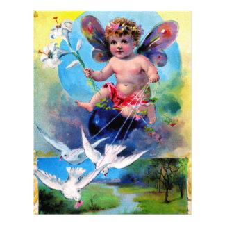Falln Spring Time Fairy Letterhead