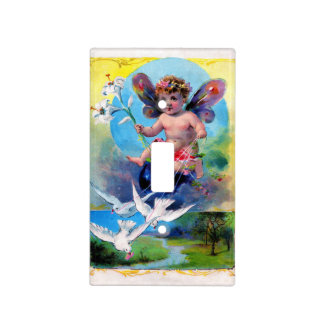 Falln Spring Time Fairy Light Switch Cover