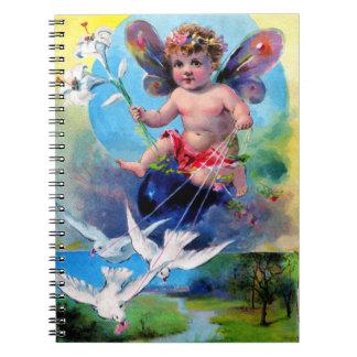Falln Spring Time Fairy Notebook