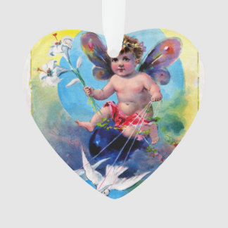 Falln Spring Time Fairy Ornament
