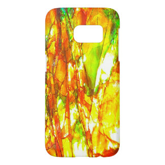 Falln Sunset Ammolite Samsung Galaxy S7 Case