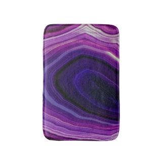 Falln Swirled Purple Geode Bath Mat