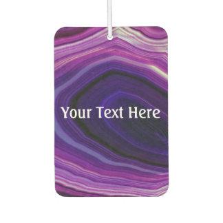 Falln Swirled Purple Geode Car Air Freshener
