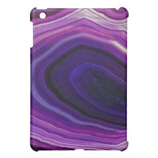 Falln Swirled Purple Geode Case For The iPad Mini