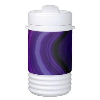Falln Swirled Purple Geode Cooler