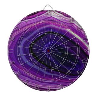 Falln Swirled Purple Geode Dart Boards