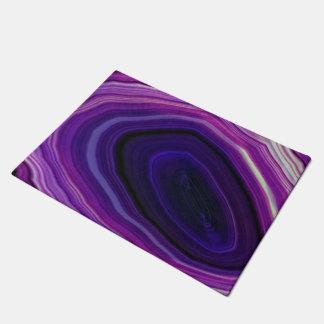 Falln Swirled Purple Geode Doormat