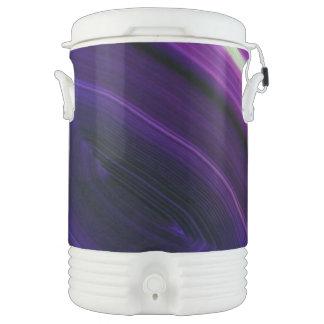 Falln Swirled Purple Geode Drinks Cooler