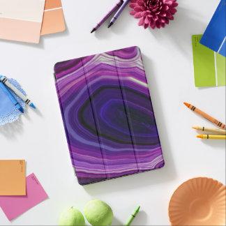 Falln Swirled Purple Geode iPad Air Cover