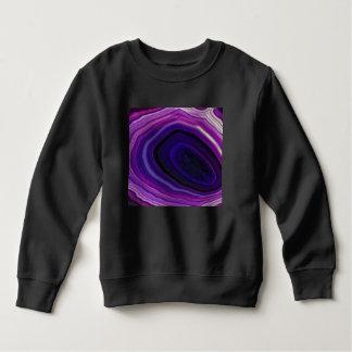 Falln Swirled Purple Geode Sweatshirt