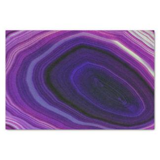 Falln Swirled Purple Geode Tissue Paper