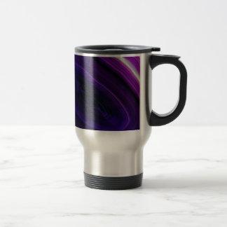 Falln Swirled Purple Geode Travel Mug