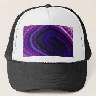 Falln Swirled Purple Geode Trucker Hat
