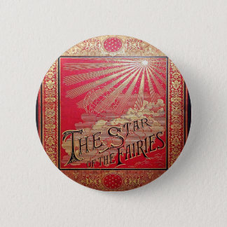 Falln The Star of the Fairies Book Cover 2 Inch Round Button
