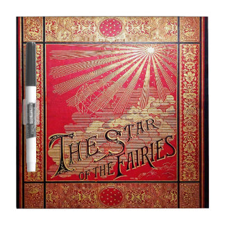 Falln The Star of the Fairies Book Cover Dry Erase Board