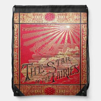 Falln The Star of the Fairies Drawstring Bag