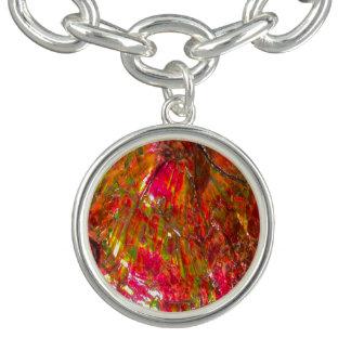 Falln Tropical Sunset Ammolite Bracelet