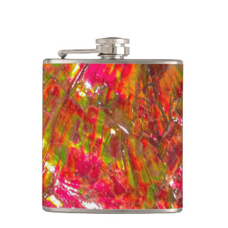 Falln Tropical Sunset Ammolite Flasks