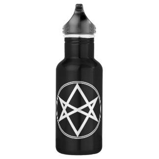 Falln Unicursal Hexagram White 532 Ml Water Bottle