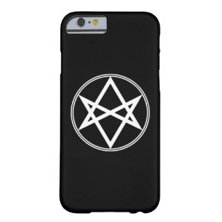 Falln Unicursal Hexagram White Barely There iPhone 6 Case