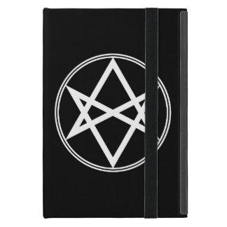 Falln Unicursal Hexagram White iPad Mini Case