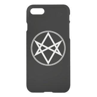 Falln Unicursal Hexagram White iPhone 8/7 Case