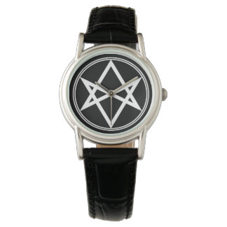 Falln Unicursal Hexagram White Watch
