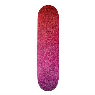 Falln Valentine Glitter Gradient Custom Skate Board